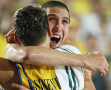 Maccabi celebrates!