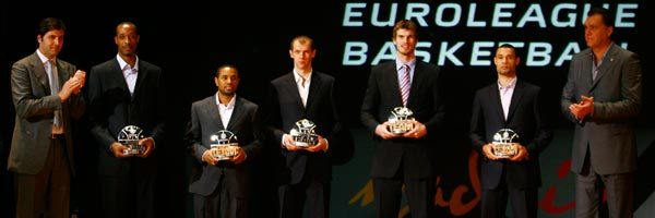 2007-08 All-Euroleague team