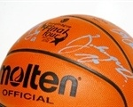 Ball Final four Bologna 2002, signed Panathinaikos