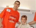 Pablo Prigioni and Luis Scola  - UNICEF, united for children - FF Athens 2007