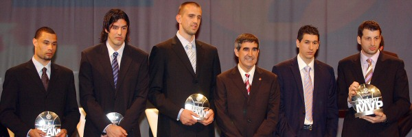 All-Euroleague team and MVP 2006-07