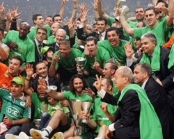 Panathinaikos champ! - Final Four Athens 2007