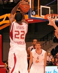 Ronald Lewis - CEZ Nymburk (photo basket-nymburk.cz)