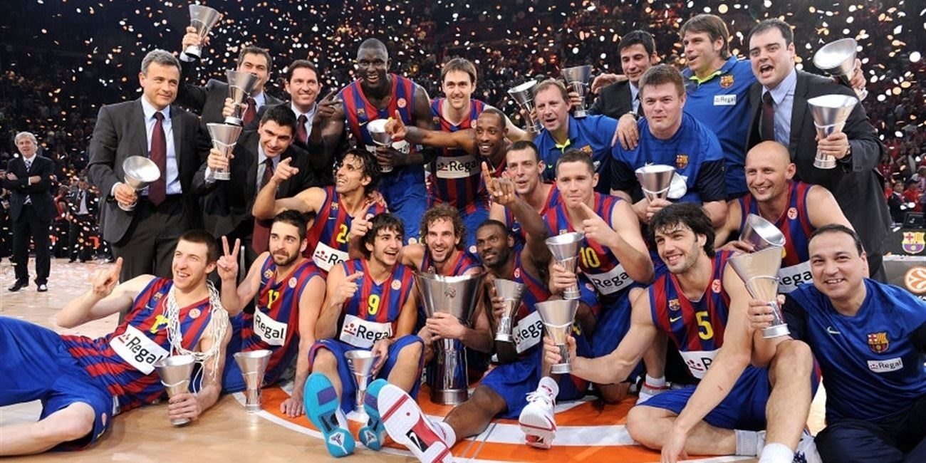 Regal FC Barcelona Champ Euroleague 2010 - Final Four Paris 2010
