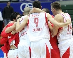 Cedevita Zagreb celebrates (photo kkcedevita.hr)