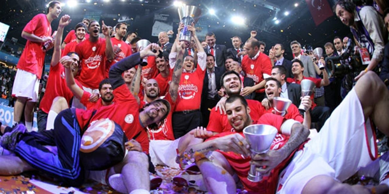 Olympiacos is the new Champ! - Final Four Istanbul 2012