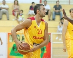 Strahinja Dragicevic signed with Panionios (Photo Keravnosbc.com)