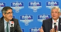 Jordi Bertomeu - President & CEO Euroleague and David Stern - NBA Commissioner