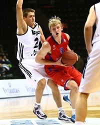 Pavel Sizov - CSKA Moscow - NIJT Siauliai 2013 (photo lithuanian Basketball Federation - Gintaras Siuparys)