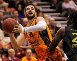 Bojan Dubljevic - Valencia Basket - EC13 (photo Miguel Angel Polo - Valencia Basket)