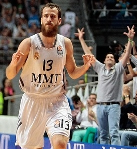 Sergio Rodriguez celebrates - Real Madrid - EB13_56883
