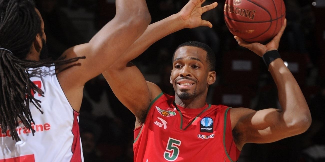 Derrick Brown - Lokomotiv Kuban - EC14 (photo SLUC Nancy - Christopher Courtois)
