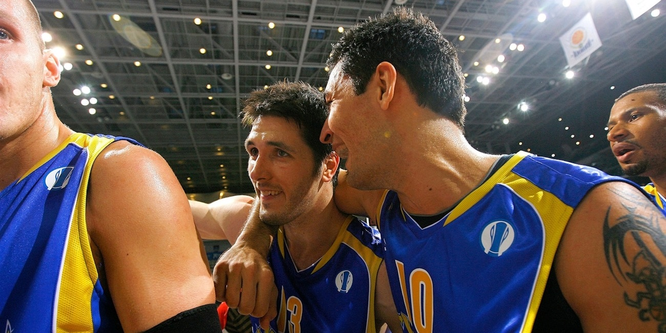Mike Wilkinson - BC Khimki celebrates - Final Eight Turin 2009 - EC08