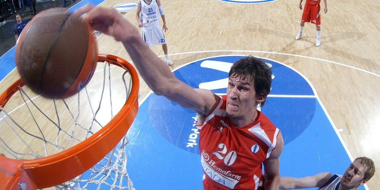 Boban Marjanovic - Hemofarm Stada - Final Eight Turin 2009 - EC08