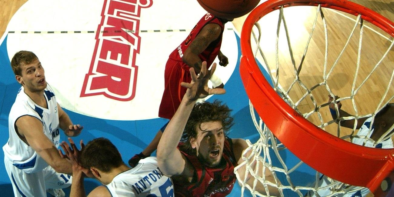 Marc Gasol - Akasvayu Girona - Final Eight Turin 2008 - EC07