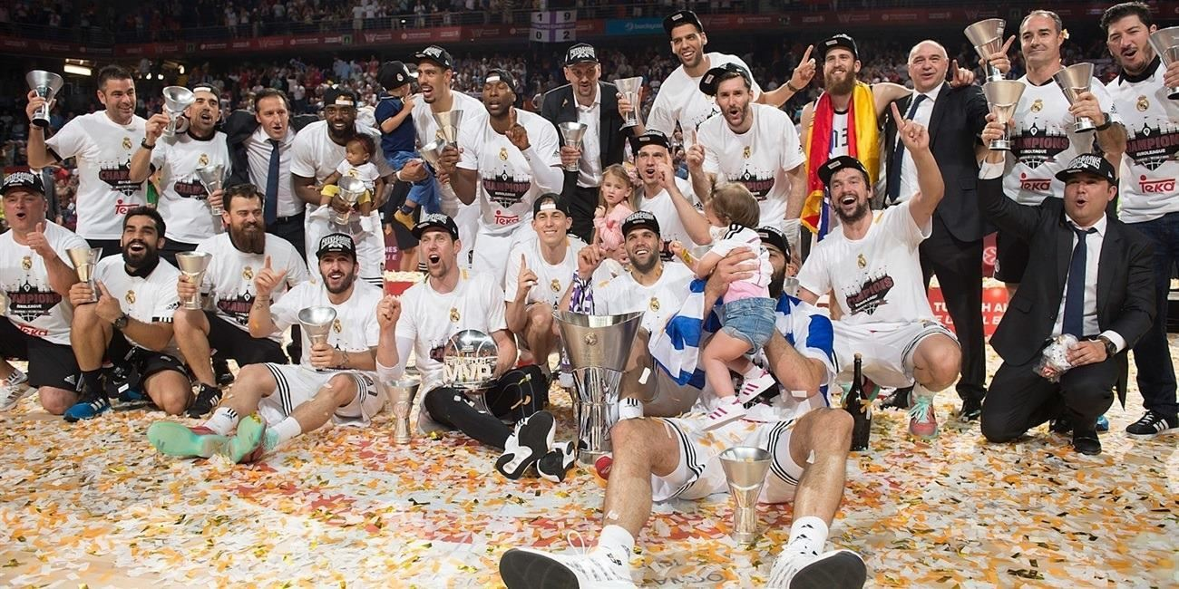 Real Madrid champ Euroleague 2014-15 - Final Four Madrid 2015 - EB14
