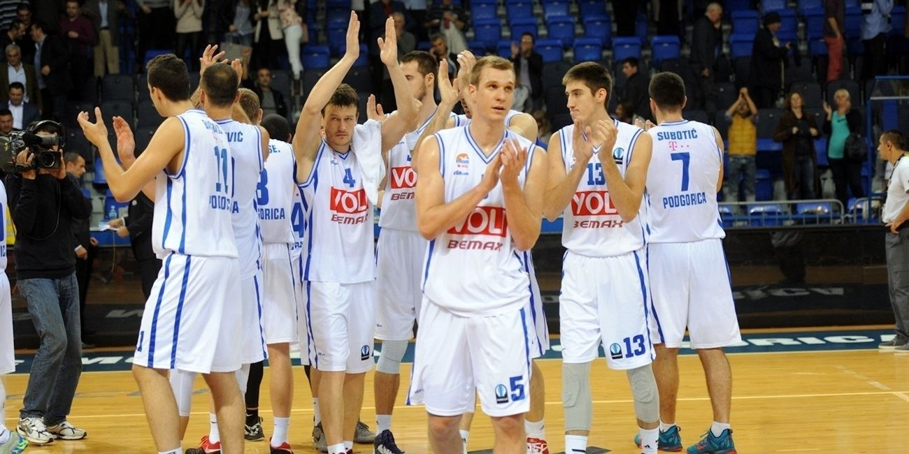 Buducnost VOLI celebrates - EC15 (photo Buducnost)