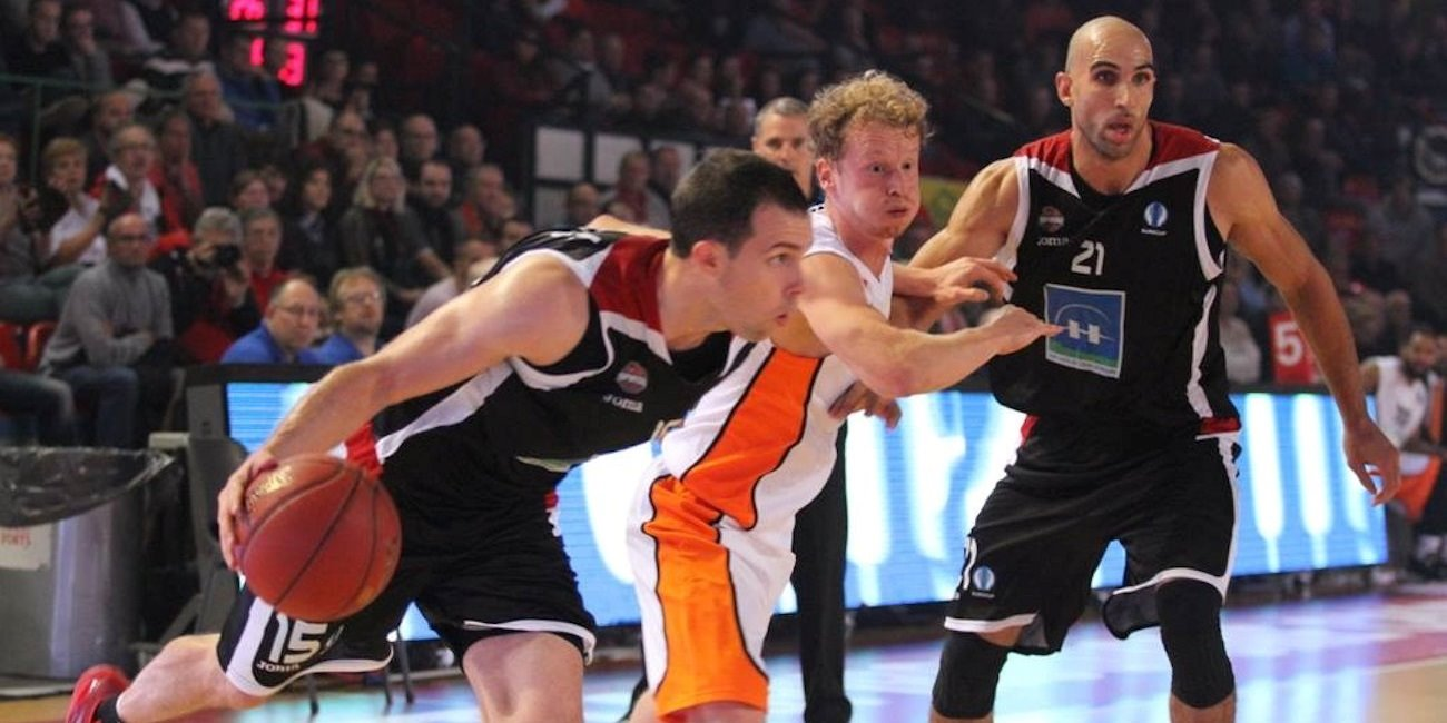 Jimmy Baron - Proximus Spirou Charleroi - EC15 (photo Spirou)