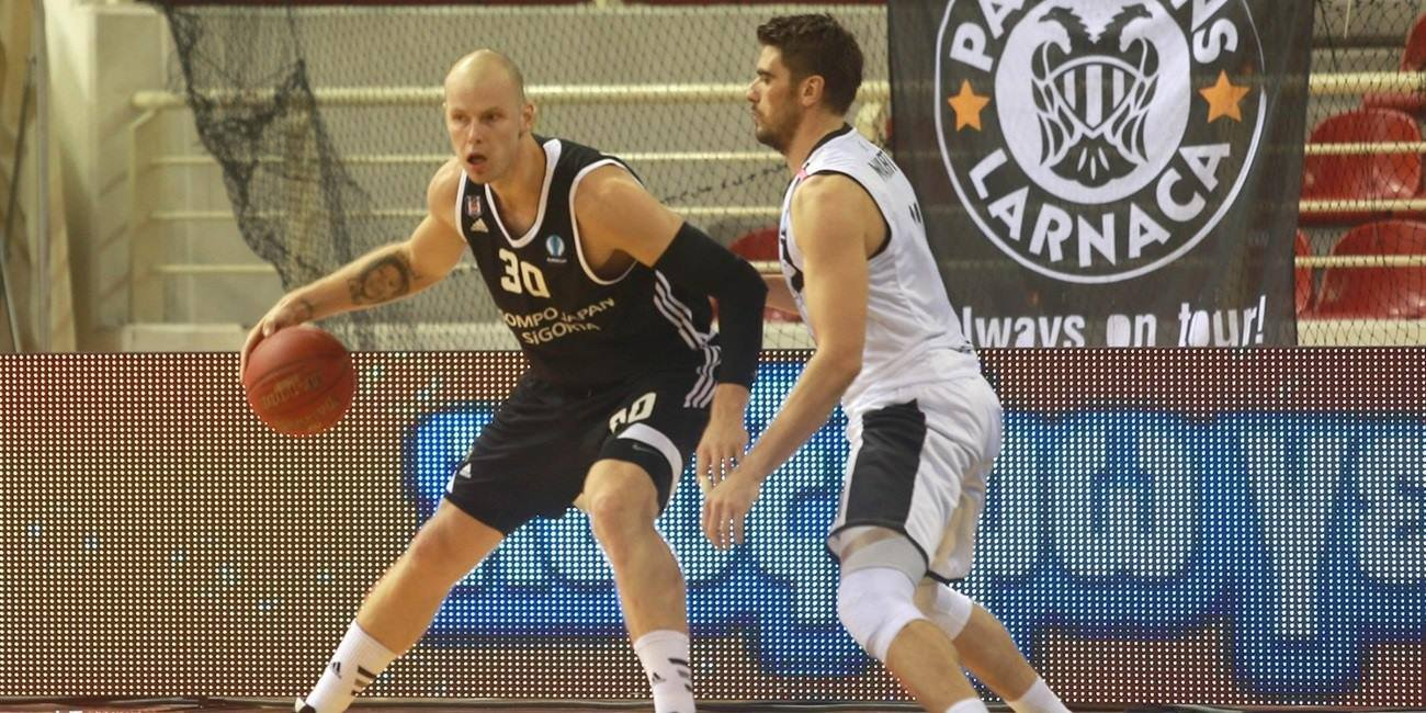 Maciej Lampe - Besiktas Sompo Japan Istanbul - EC15 (photo PAOK - megapress)