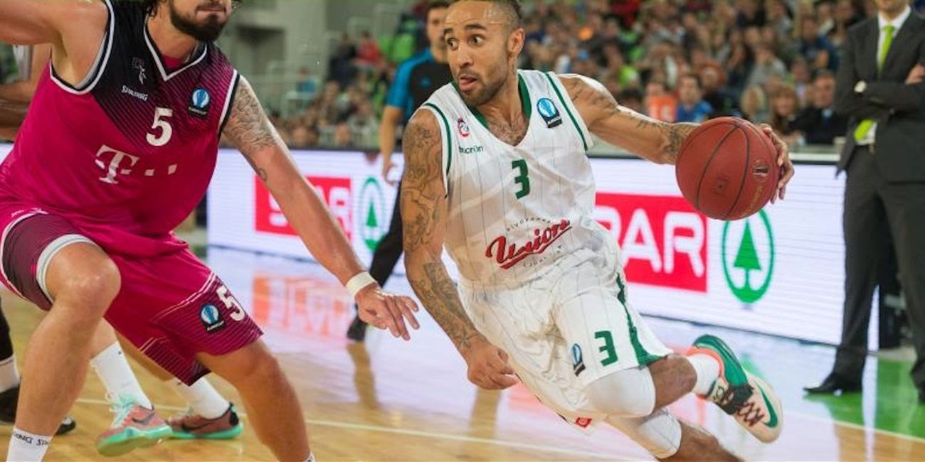 Zach Wright - Union Olimpija Ljubljana - EC15 (photo Union Olimpija)
