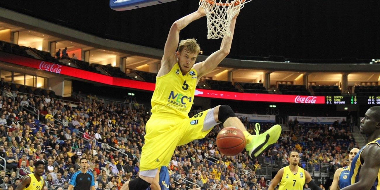Niels Giffey - ALBA Berlin - EC15 (photo ALBA Berlin - Camera4)