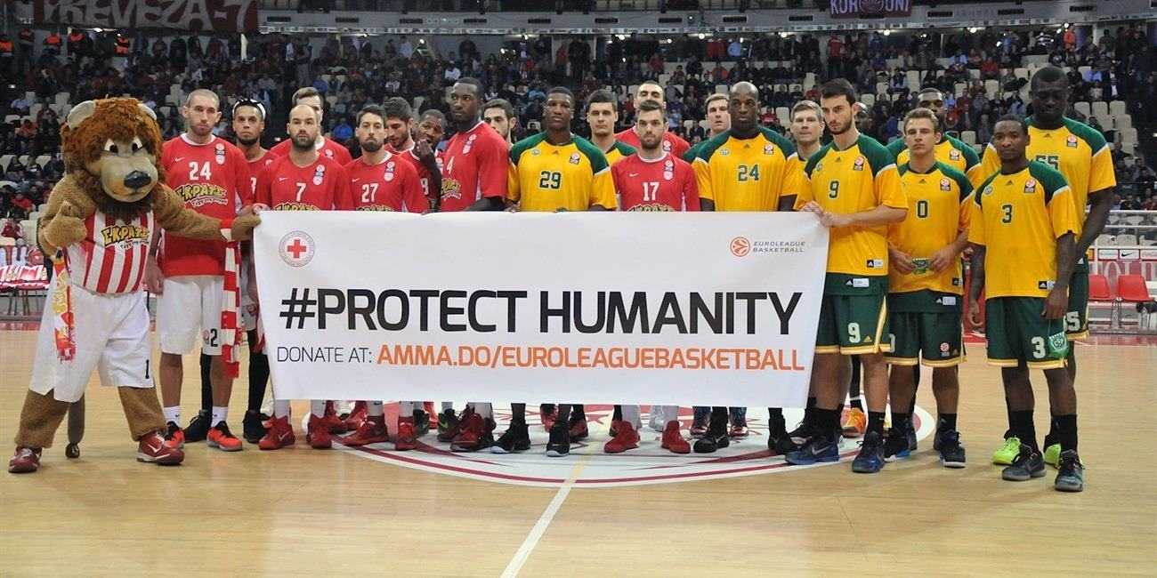 Protect Humanity - Olympiacos Piraeus vs. Limoges CSP - EB15