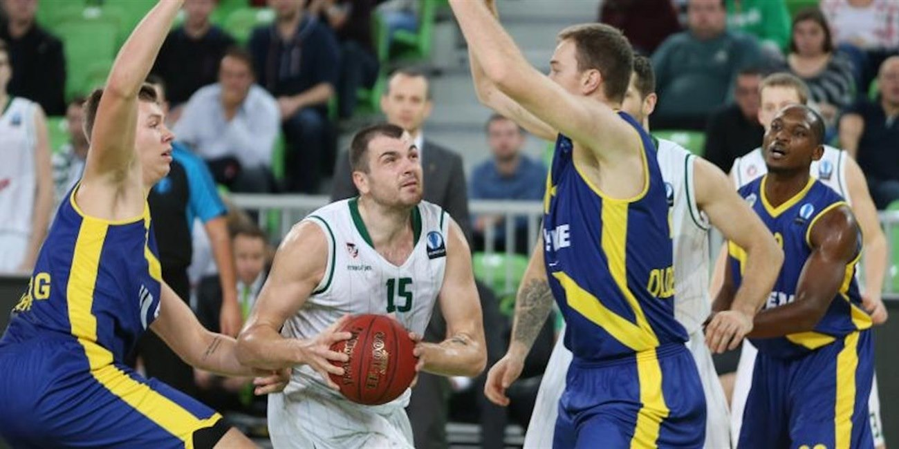 Sava Lesic - Union OLimpija Ljubljana - EC15 (photo Union Olimpija)