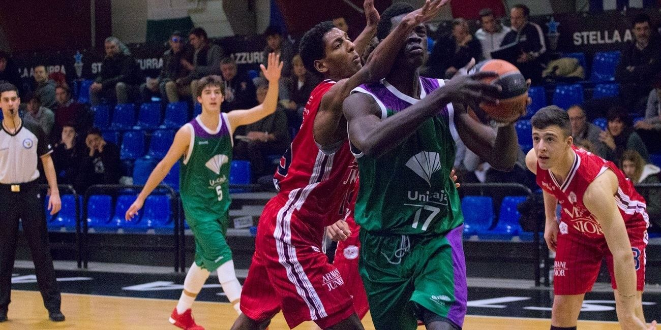 Ablaye Sow - U18 Unicaja Malaga - JT15 (photo Federico Rossini)