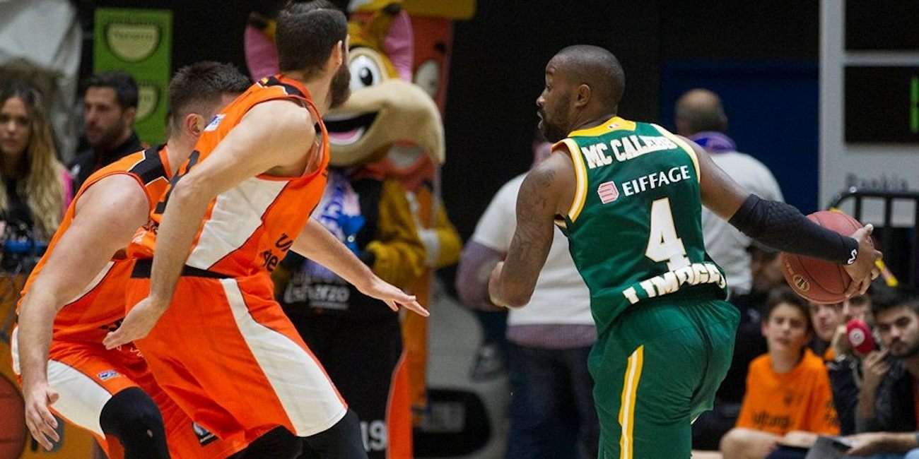 Bo McCalebb - Limoges CSP - EC15 (photo Valencia - Miguel Angel Polo)