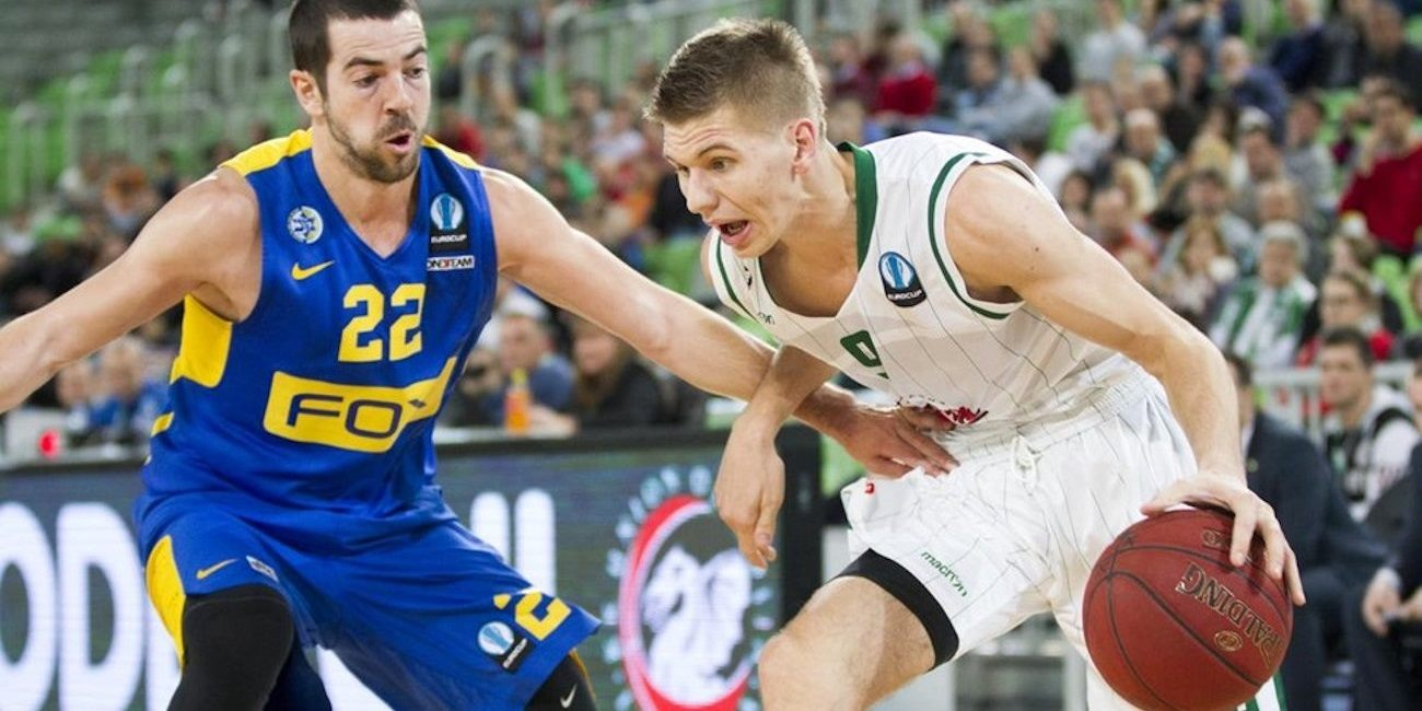 Blaz Mesicek - Union Olimpija Ljubljana - EC15 (photo Union Olimpija)