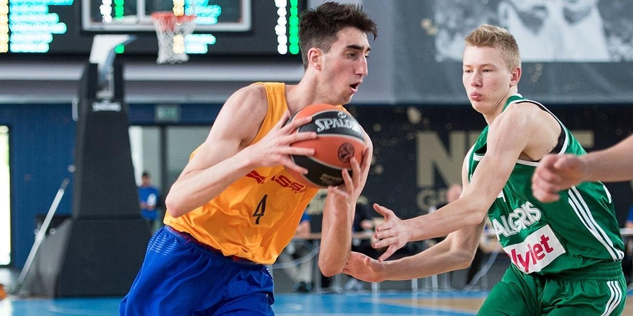 Eric Vila - U18 FC Barcelona Lassa - Final Four Berlin 2016 - EB15