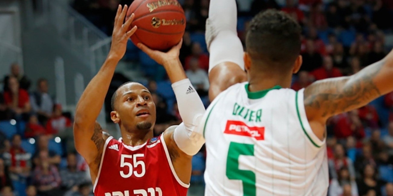 Curtis Jerrels - Hapoel Bank Yahav Jerusalem - EC16 (photo Hapoel)
