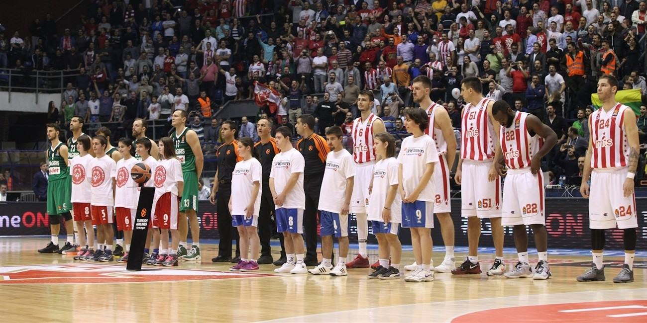 One Team Week - Crvena Zvezda mts Belgrade vs. Zalgiris Kaunas - EB16