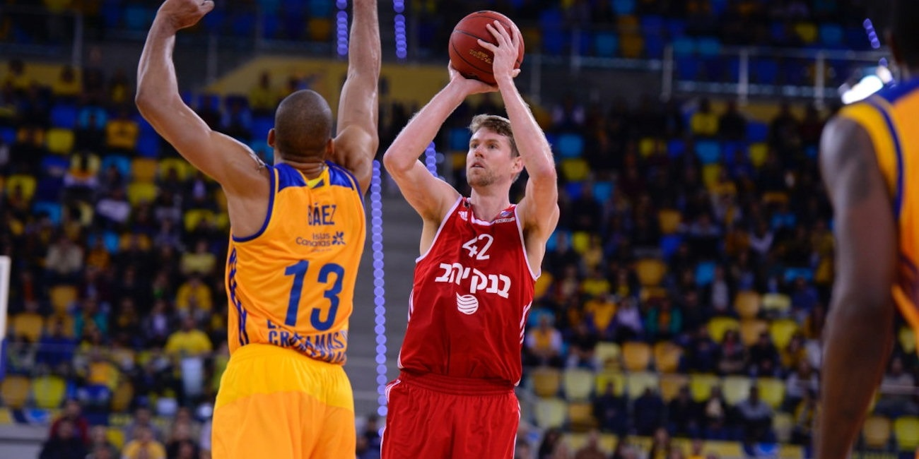 Travis Peterson - Hapoel Bank Yahav Jerusalem - EC16 (photo Gran Canaria)