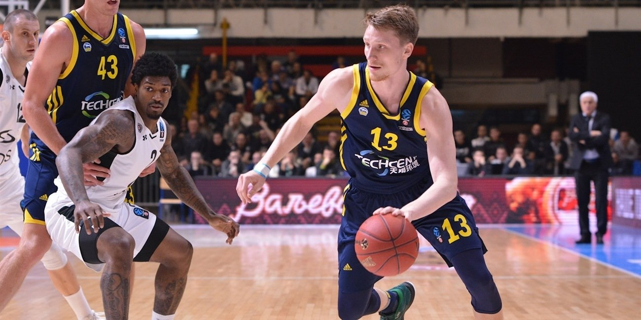 Marius Grigonis - ALBA Berlin (photo Partizan) - EC17