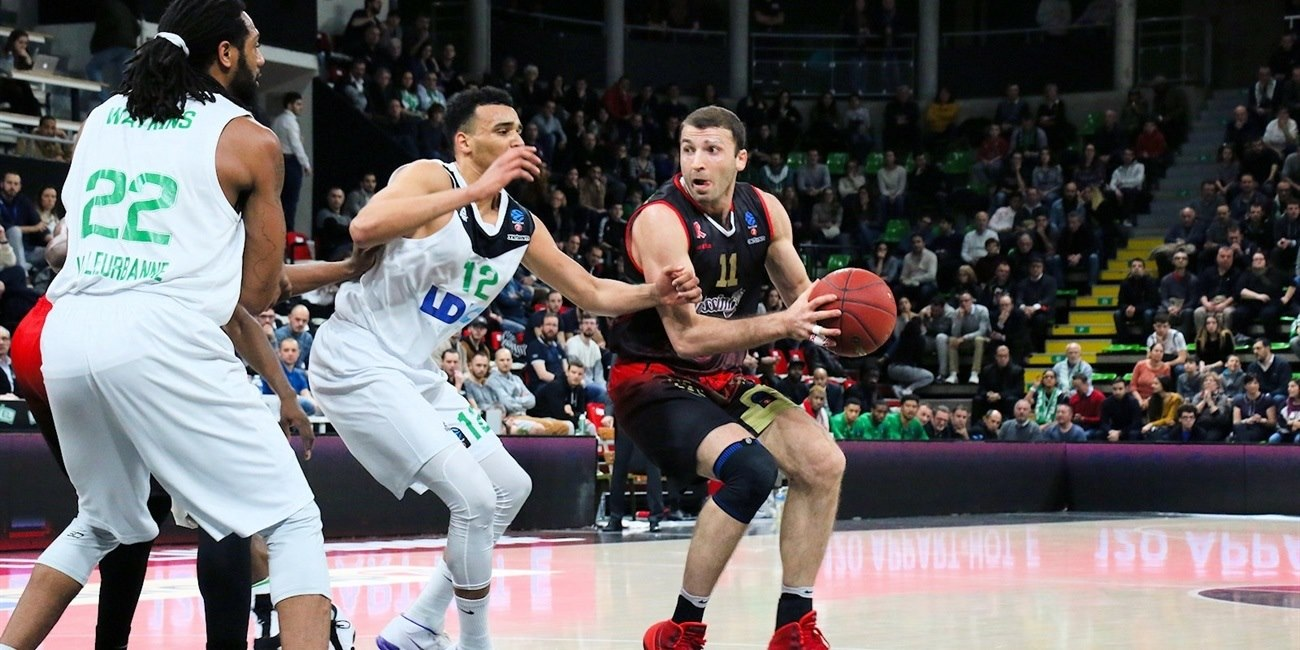 Manuchar Markoishvili  (photo Asvel - infinity Nine Media - Arthur Viguier) - EC17