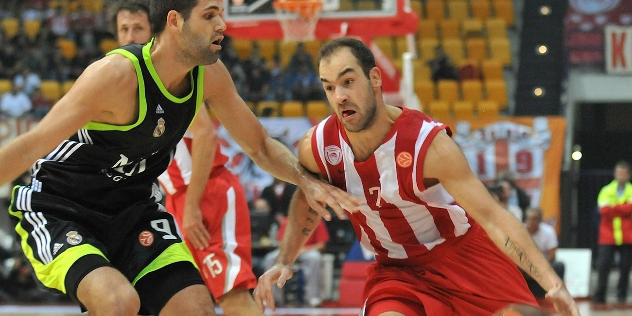 Vassilis Spanoulis - Olympiacos - Opening Game Euroleague 2010-11 - EB10