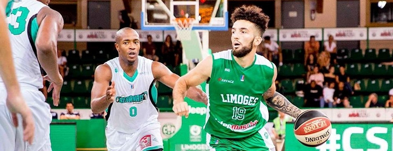 London Perrantes - Limoges CSP preseason (photo Limoges CSP) - EC18