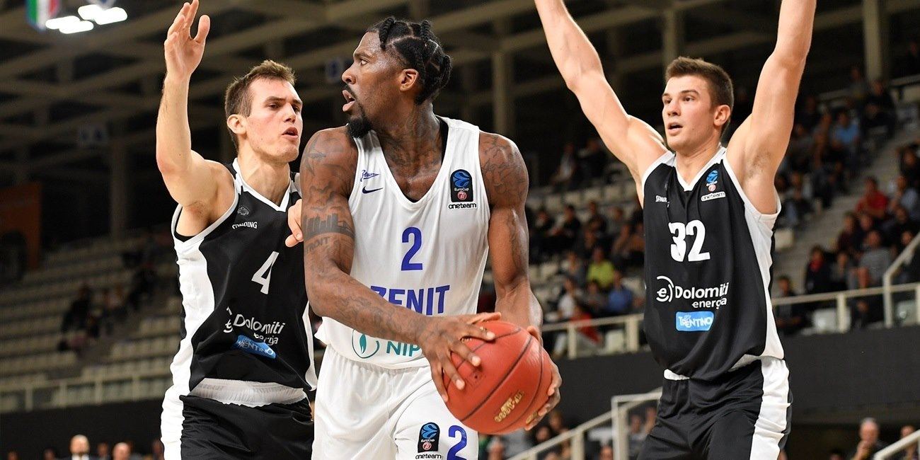 Jalen Reynolds - Zenit St Petersburg (photo Trento) - EC18