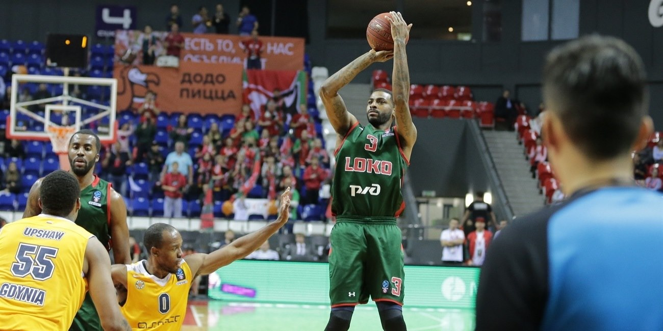 Dorell Wright - Lokomotiv Kuban Krasnodar (photo Lokomotiv) - EC18