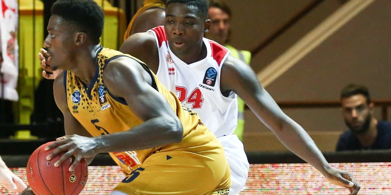 Awudu Abass - Germani Brescia Leonessa (photo Monaco) - EC18