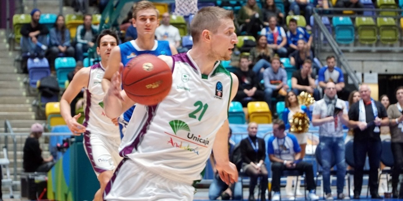 Adam Waczynski - Unicaja Malaga (photo Skyliners) - EC18