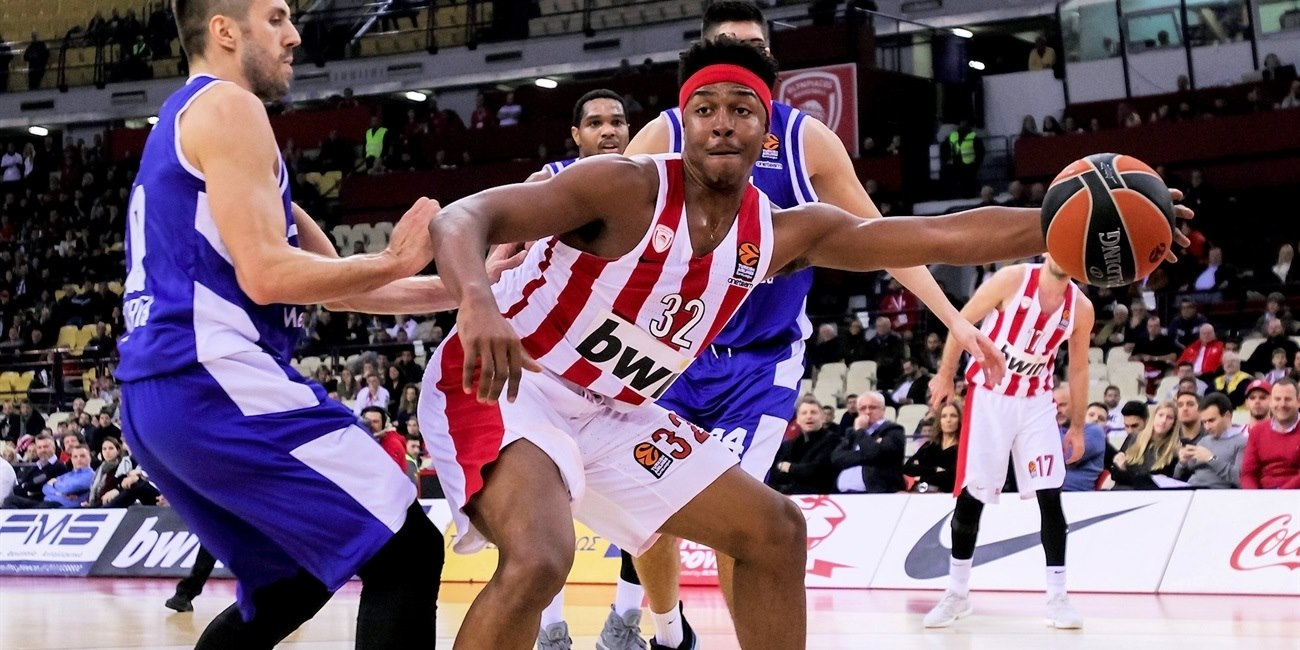 Zach Leday - Olympiacos Piraeus - EB18