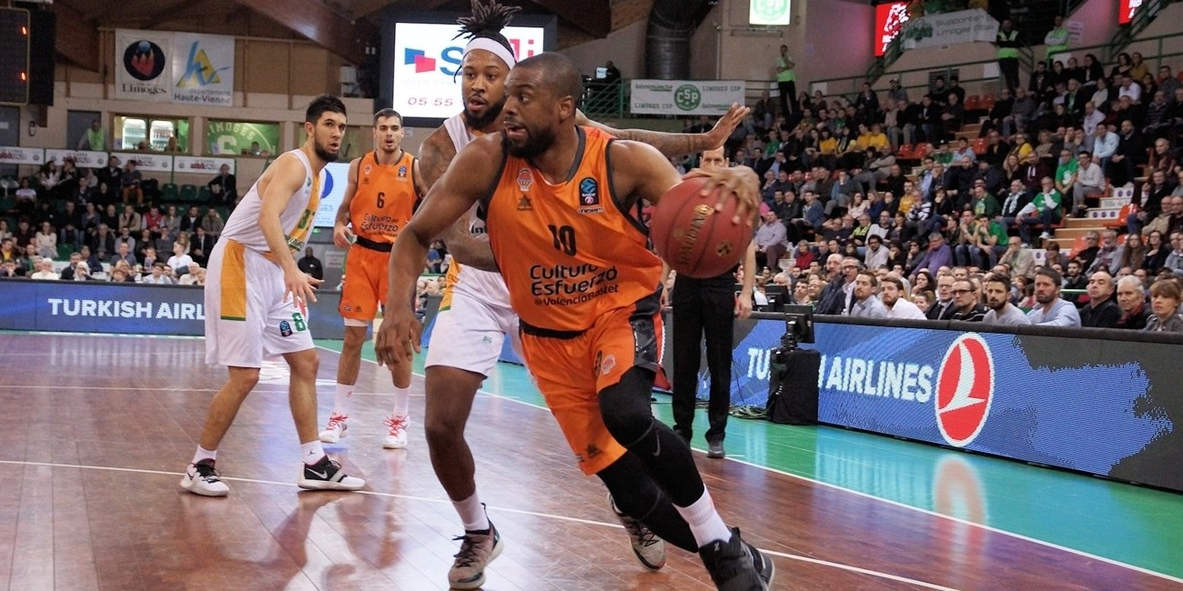 Will Thomas - Valencia Basket (photo Limoges) - EC18