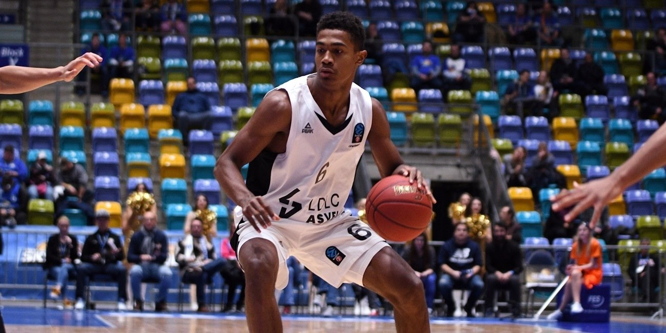 Theo Maledon - LDLC ASVEL Villeurbanne (photo Skyliners) - EC18