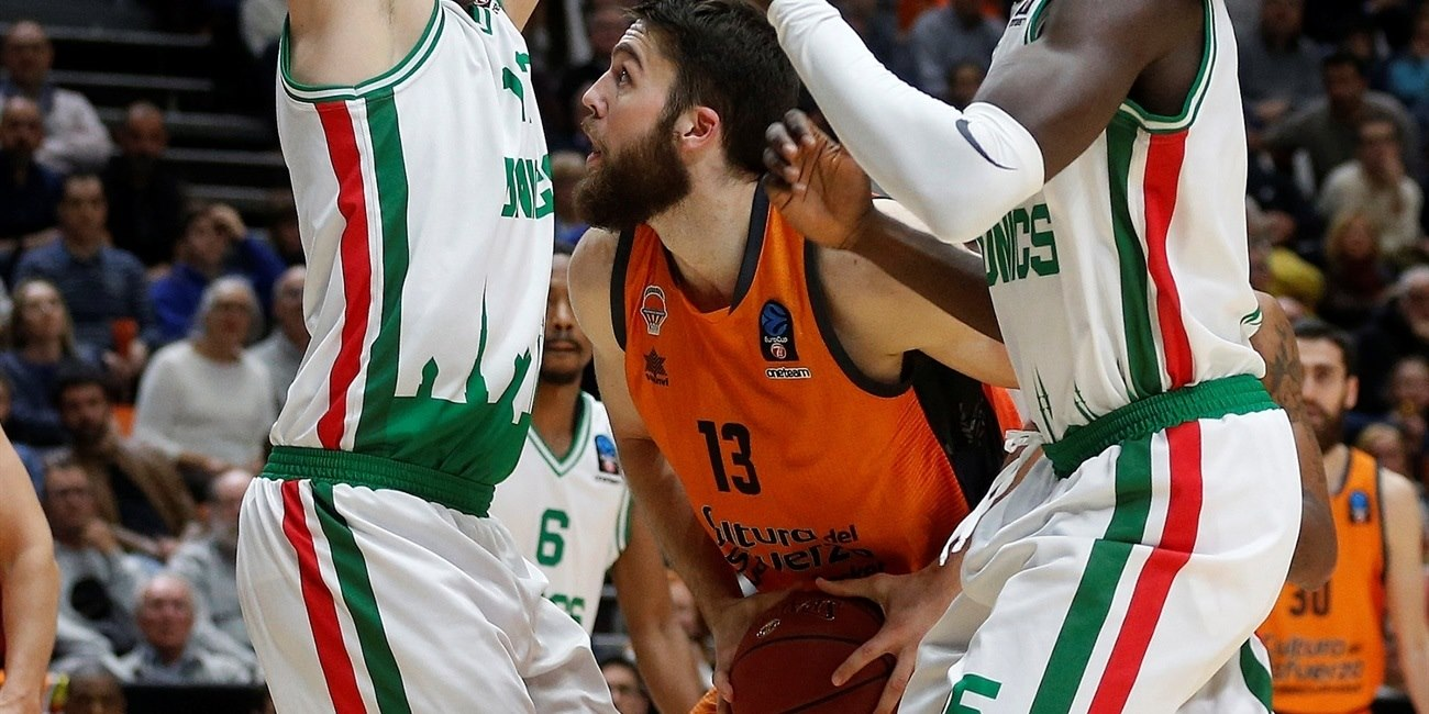 Mike Tobey - Valencia Basket (photo Miguel Angel Polo - Valencia) - EC18