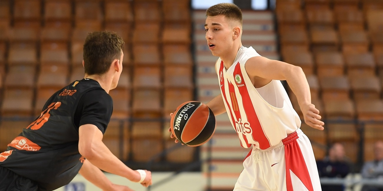 Vukasin Masic - U18 Crvena Zvezda mts Belgrade - ANGT Final Four Vitoria-Gasteiz 2019 - JT18