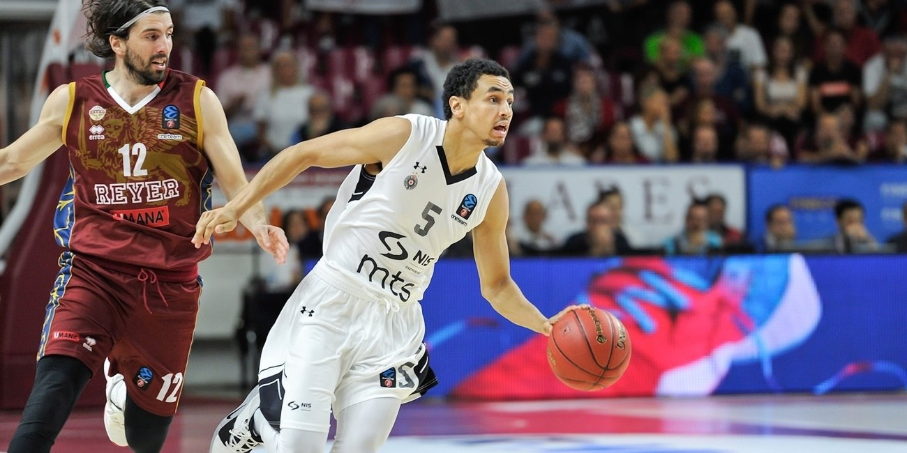Marcus Paige - Partizan NIS Belgrade (photo Reyer Venice) - EC19