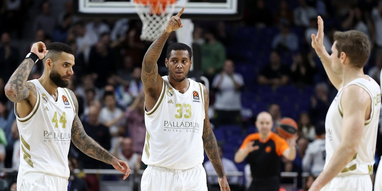 Trey Thompkins - Real Madrid - EB19