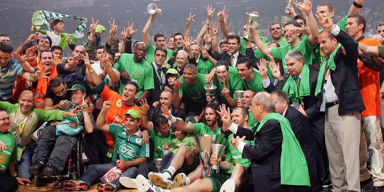Panathinaikos Athens champ Final Four Athens 2007 - EB06
